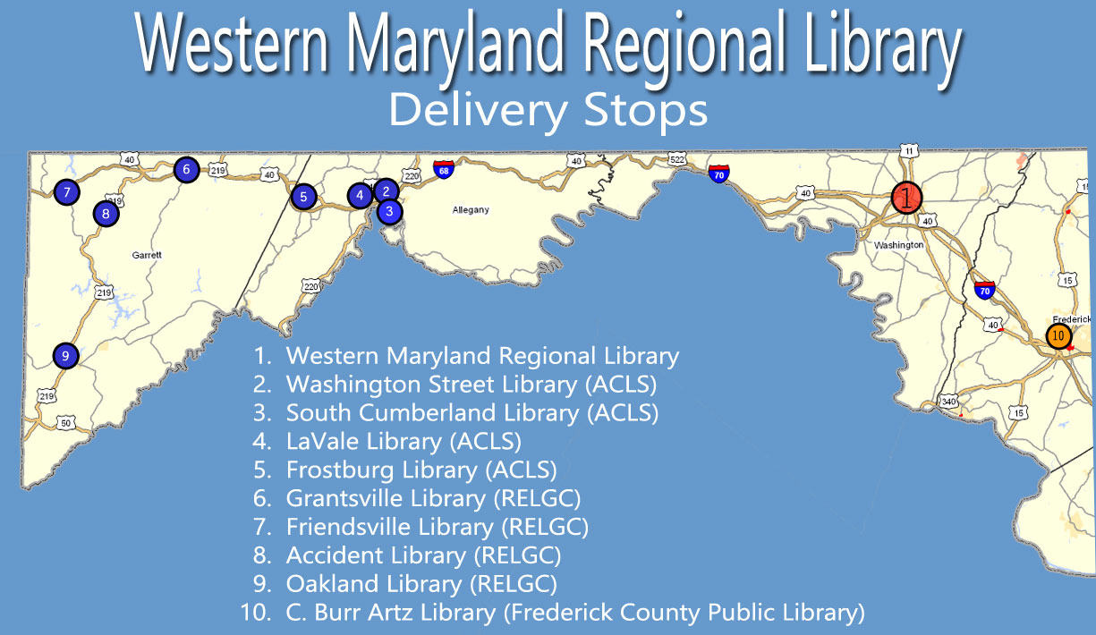 WMRL Delivery Map