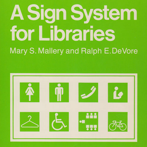 Sign System for Libraries