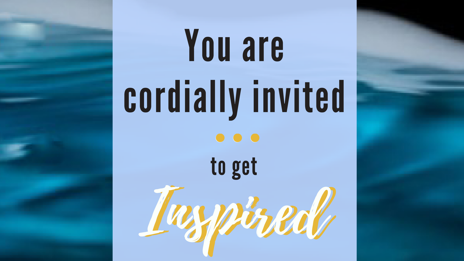 Invite for Summit
