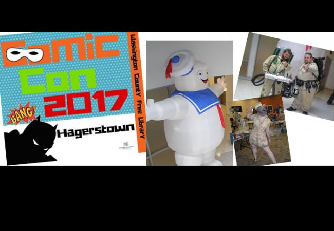 Washington County celebrates Comic Con 2017!