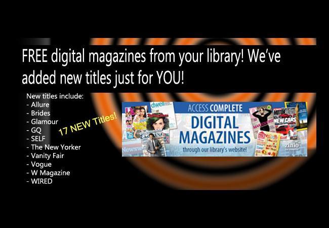 Database Highlight - Digital Magazines from Zinio™