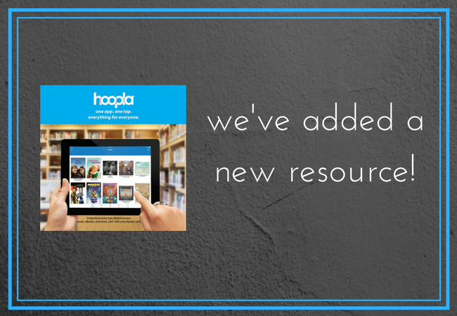 Hoopla - books and more