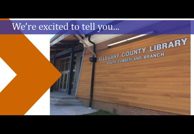 Allegany County Library at South Cumberland