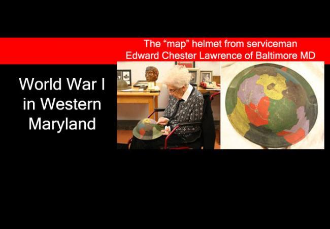 World War I helmet