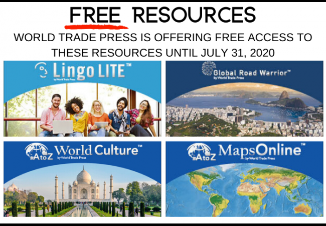 Images of World Trade Press products