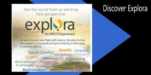 Explore Explora graphic!